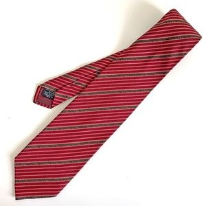 ARMANI COLLEZIONI Striped Silk Tie Italy